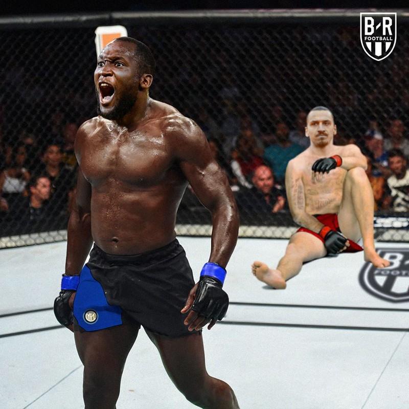 Troll Bóng Đá - Lukaku biến Ibrahimovic thành người tý hon-5